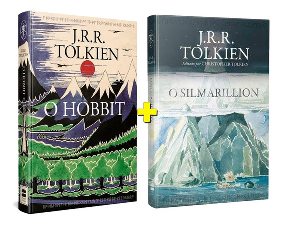 Kit Livros O Silmarillion + O Hobbit Ed Exclusiva Tolkien