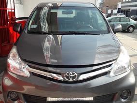 Toyota Avanza Motor 1.5 Año 2014 Gris 5 Puertas