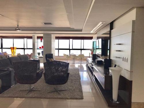 Imagem 1 de 15 de Apartamento Mobiliado Para Venda Ou Locação - Praia Do  Cabo Branco - João Pessoa - Pb - Ap0894