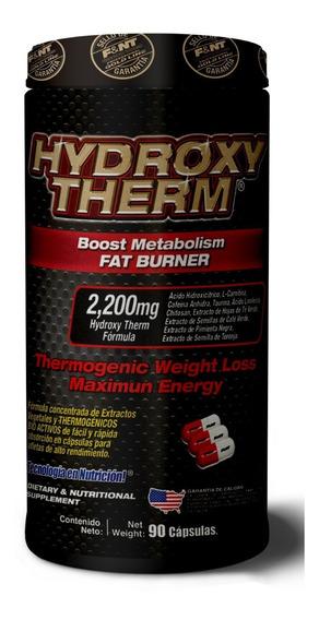 Hydroxy Therm Boost Metabolism Fat Burner Quemador 90 Caps