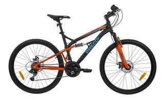 Bicicleta Philco Mountain 26 Doble Suspension 21 Velocidades