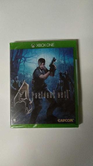 Jogo Resident Evil 4 Xbox One Midia Fisica Novo Lacrado