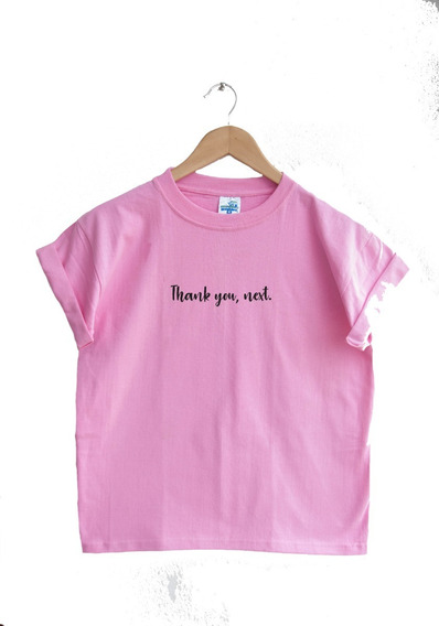 Playera Unisex Thank You, Next Tumblr