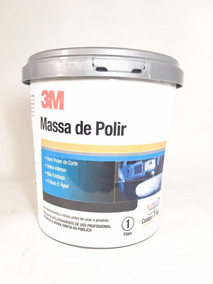 Massa De Polir 3m Polimento Automotivo Profissional 1kg