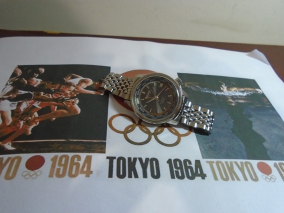 Seiko Gmt Antigo World Diver Tokyo Olympics 1964 6217 7000