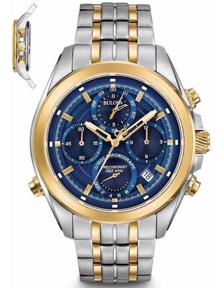 Relógio Bulova Masculino Precisionist Wb31925a Aço Misto