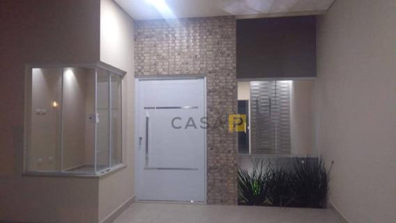 Casa À Venda, 111 M² Por R$ 350.000 - Jardim Boer I - Americana/sp - Ca0374