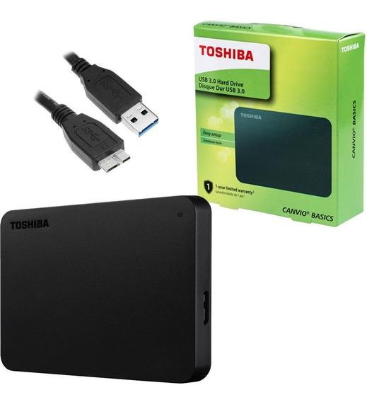 Hd Externo 1tb Toshiba Canvio Basics Usb 3.0 Portatil