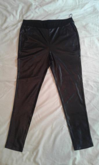 Pantalon Calza Simil Cuero