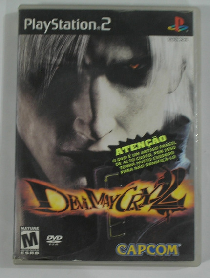 Devil May Cry 2 Ps2 Original Usado Testado Ok