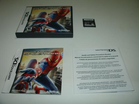= Nintendo Ds The Amazing Spider Man Marvel Homem Aranha