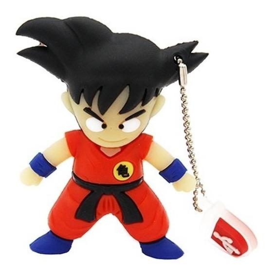Pen Drive 32gb Personalizado Goku Dragon Ball Anime Usb 2.0