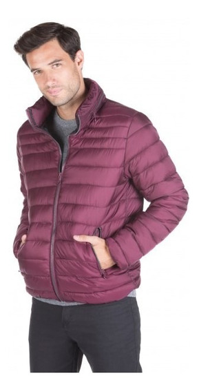 Campera Inflable Formal Con Capucha Macowens