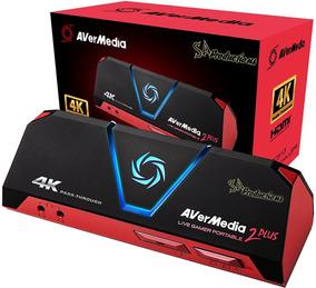 Placa Captura Avermedia Live Gamer Portable 2 Plus Lgp Gc513