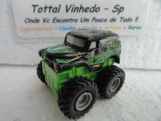 Hot Wheels Miniatura Grave Digger Monster Jam Pick-up *