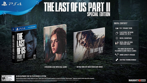 The Last Of Us Part Ii Special Edition - Ps4