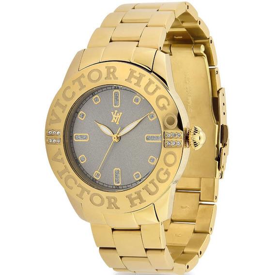 Relógio Victor Hugo Luxo Feminino - Vh10119lsg/28m