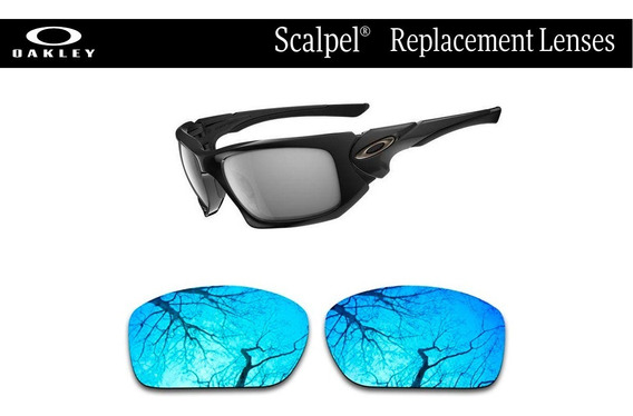 Micas De Reemplazo Para Oakley Scalpel Color Sapphire