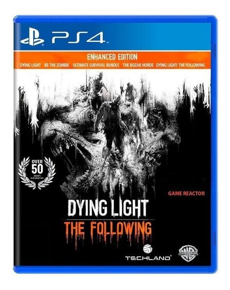 Dying Light The Following Ps4 Mídia Física Pronta Entrega