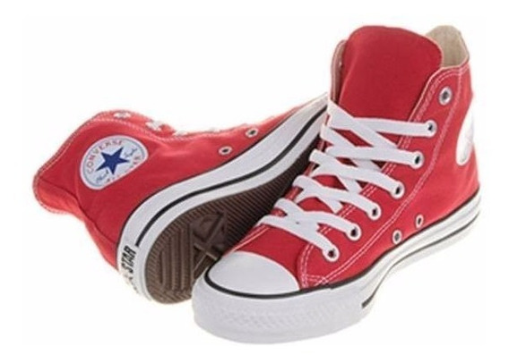Zapatilla Converse All Star Hi Rojo - Sagat Deportes