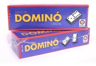 Domino Cristal Juego De Mesa Clasico Ruibal - Sharif Express