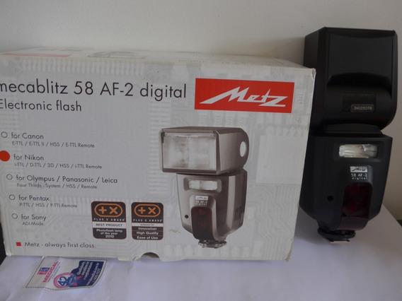 Flash Metz Mecablitz Af-58 Para Nikon