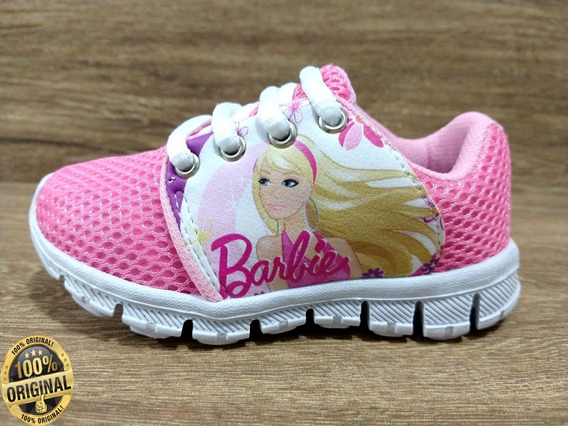 Tênis Infantil Feminino Barbie Super Promoção Barato