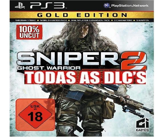Sniper Ghost Warrior 2 Gold Edition Ps3 Psn Original Promoçã