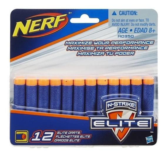 Dardos Munição Nerf Elite N-strike Com 12 - Hasbro A0350