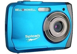 Cámara Digital Bell Howell Wp7 16mp A Prueba De Agua -azul