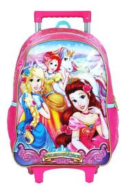 Mochila Infantil Rodinhas Princesas Mágicas Unicórnio Pr9231
