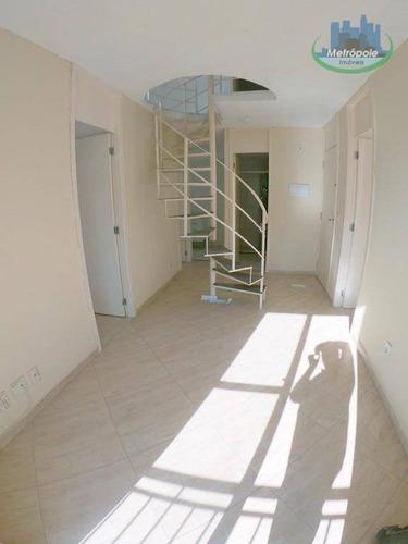 Apartamento Duplex Com 3 Dormitórios À Venda, 110 M² Por R$ 280.000,00 - Jardim São Domingos - Guarulhos/sp - Ad0004