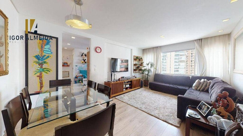 Apartamento Com 3 Dormitórios À Venda, 94 M² Por R$ 1.025.000,00 - Perdizes - São Paulo/sp - Ap47826