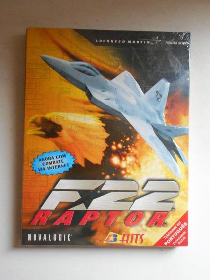 Jogo Pc - F-22 Raptor - Novo E Lacrado