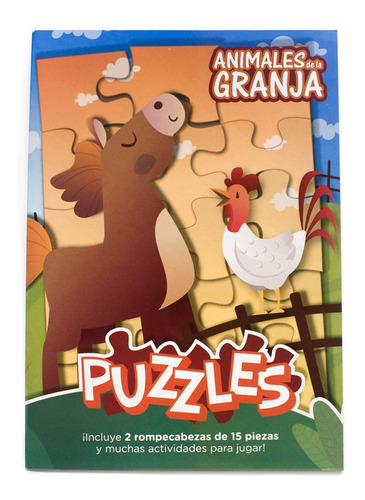Libropuzzlesn° 3:animalesdelagranja