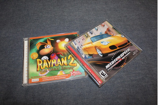2 Juegos Pc - Rayman 2 - Need For Speed Porsche