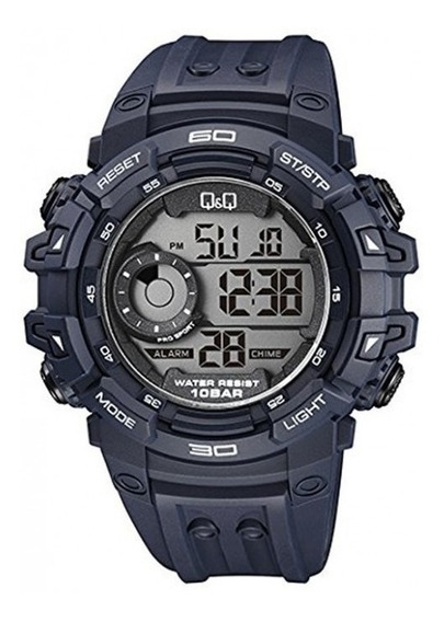 Reloj Q&q By Citizen Sport Azul Marino M156j003y