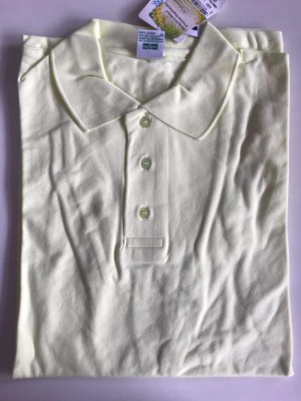 Camiseta Malwee Polo Lisa Em Malha Piquet C/ Strech/elastano