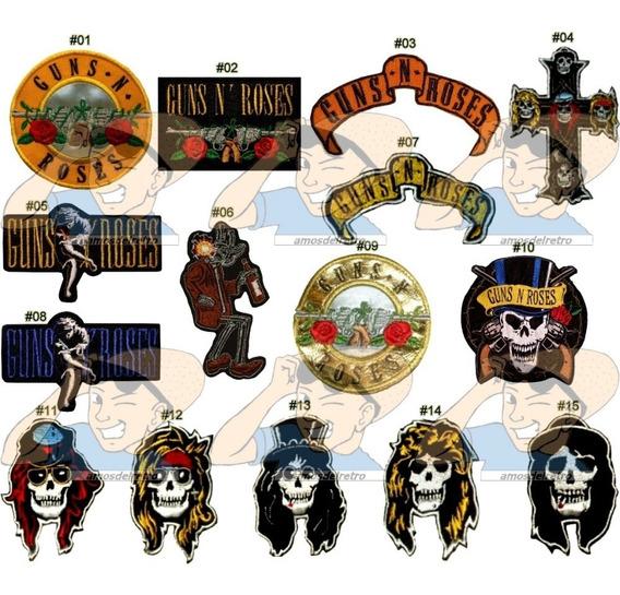 Parche Bordado Musica Rock Guns N