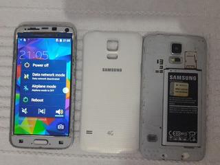 2 Celular Samsung S5 Seminovo Funcionando , Imperdível.