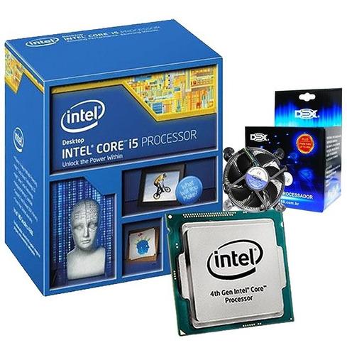 Processador Intel Core I5 4690 3.5 - 3.9ghz 1150 + Cooler