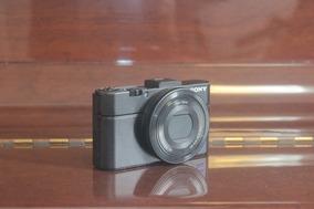 Câmera Digital Sony Rx100 Ii + 3 Baterias + Bolsa Case Logic