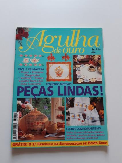 Revista Agulha De Ouro Ponto Cruz Toalhas De Mesa Banho D701