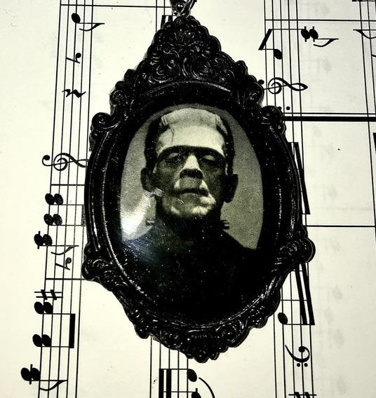 Collar Camafeo Frankenstein