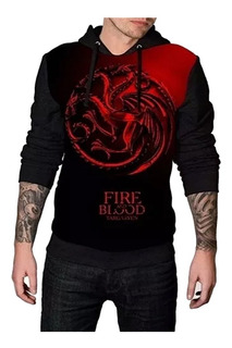 Blusa De Frio Moletom Game Of Thrones Estampa Full Ref 502