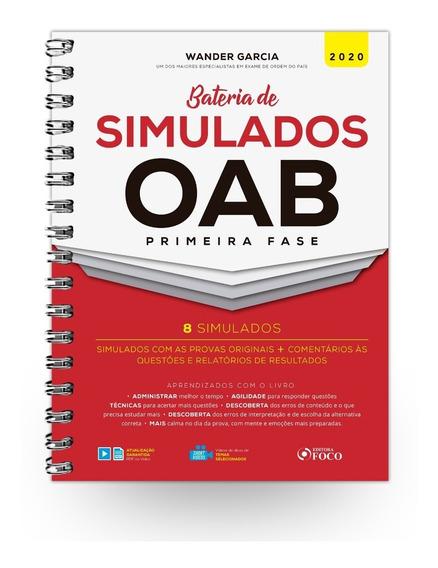 Bateria De Simulados Oab 1ª Fase 1ª Edição (2020)