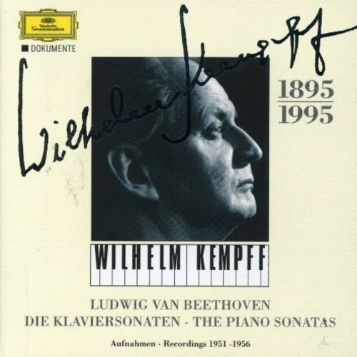 Beethoven / Kempff 32 Piano Sonatas Uk Import Cd X 8