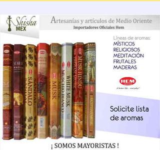 Incienso Hem Media Caja Con 25 Paquetes