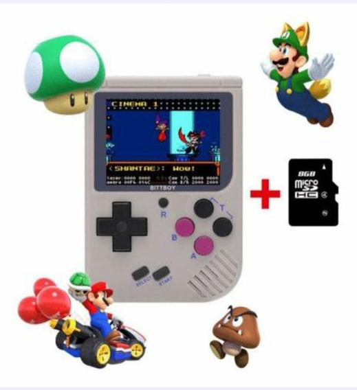 Bittboy V3 8gb Multiplataformas Nes Game Boy Snes