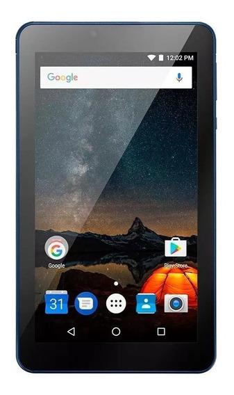 Tablet Azul M7s Multilaser 8gb Quadcore 1gb Ram Android 7.0